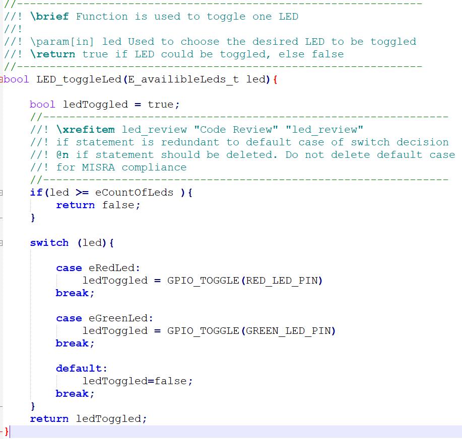 Code Review mit Doxygen